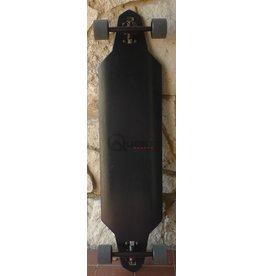 Quest Zero Dark 40 Drop Through Longboard Complete - 40 x 9