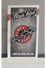 Black Label Black Label Crutch - Enamel Pin