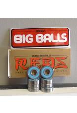 Bones Bones Red Big Balls Bearings (set of 8)