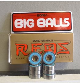 Bones Bones Red Big Balls Bearings (set of 8)