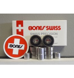 Bones Bones Swiss Bearings (Set of 8)