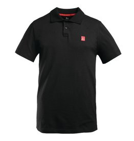 éS èS Pique Polo - Black (size Large)
