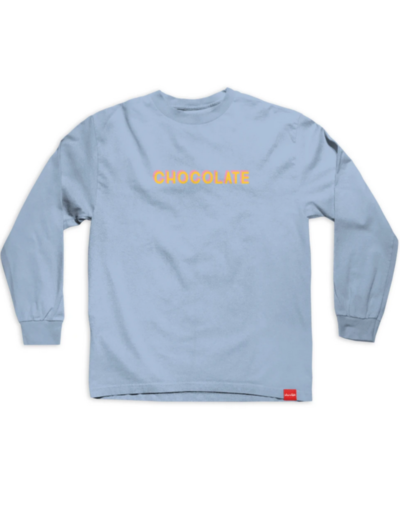 Chocolate Chocolate Bar Long Sleeve T-shirt - Powder Blue