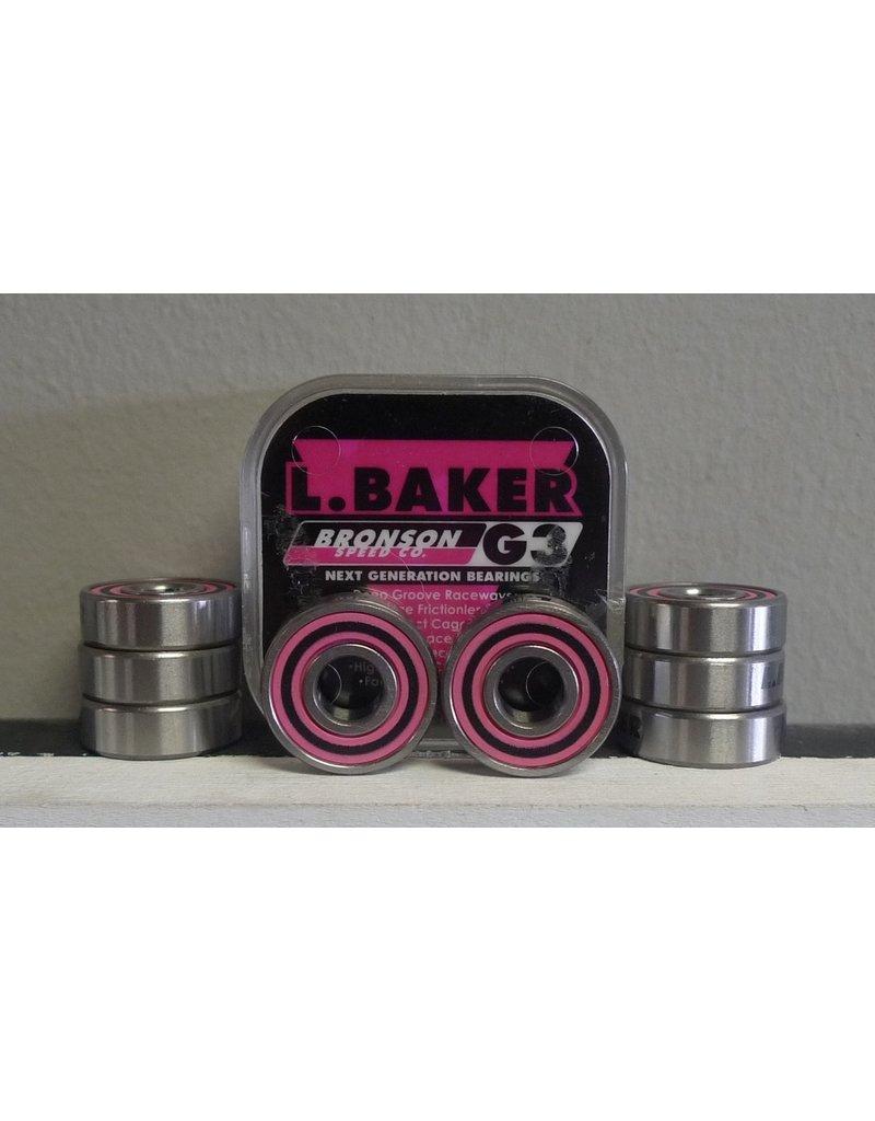 Bronson Speed co. Bronson G3 Leo Baker Bearings (set of 8)