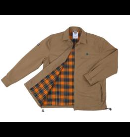 Theories Brand Theories Lantern Club Jacket - Britsh Khaki