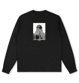 Theories Brand Theories Sphinx Long Sleeve T-shirt - Black (size Large)