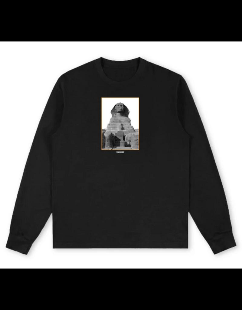 Theories Brand Theories Sphinx Long Sleeve T-shirt - Black