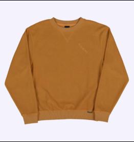 Quasi Quasi Terry Crew Sweater - Gold