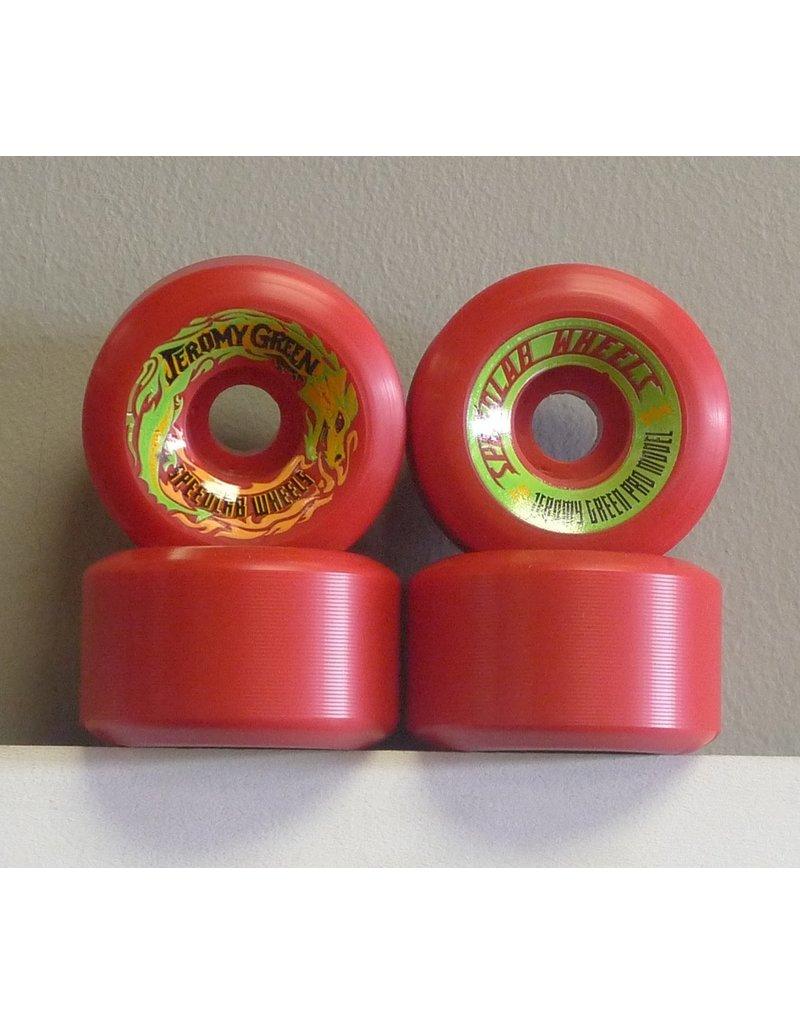 Speedlab Wheels Speedlab Green Pro 59mm 99a Wheels (set of 4)