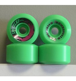 Speedlab Wheels Speedlab Bombshells 2 Green 57mm 99a Wheels (Set of 4)
