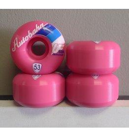 Autobahn Autobahn Torus  Ultra Le Pink 53mm 100a Wheels (set of 4)
