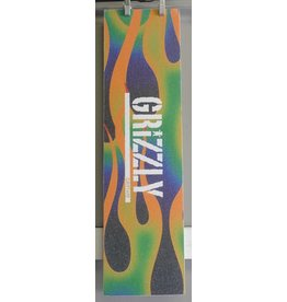 "Grizzly Grizzly Green Fire Stamp Perforated 9"" Grip Sheet"