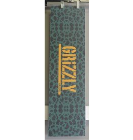 "Grizzly Grizzly Green Cheetah Stamp Perforated 9"" Grip Sheet"