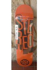 Stereo Stereo Team Stacked Orange Deck - 8.5