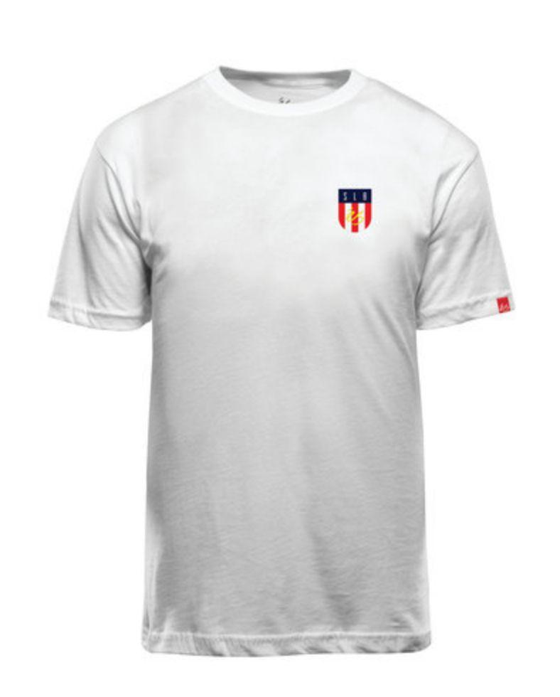 éS éS SLB Tech T-shirt - White (size Large)