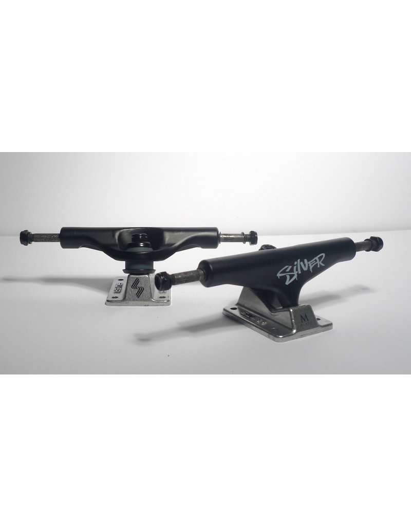 Silver Silver M-Class Hollow Blackout Trucks 8.0 (set of 2)