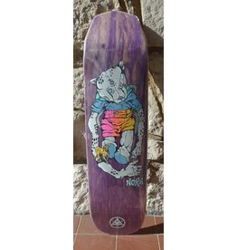 Welcome Welcome Nora Vasconcellos Teddy on Wicked Princess Purple Stain Deck - 8.125 x 31.6