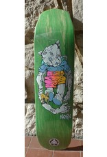 Welcome Welcome Nora Vasconcellos Teddy on Wicked Princess Green Stain Deck - 8.125 x 31.6