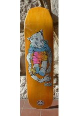 Welcome Welcome Nora Vasconcellos Teddy on Wicked Princess  Orange Stain Deck - 8.125 x 31.6