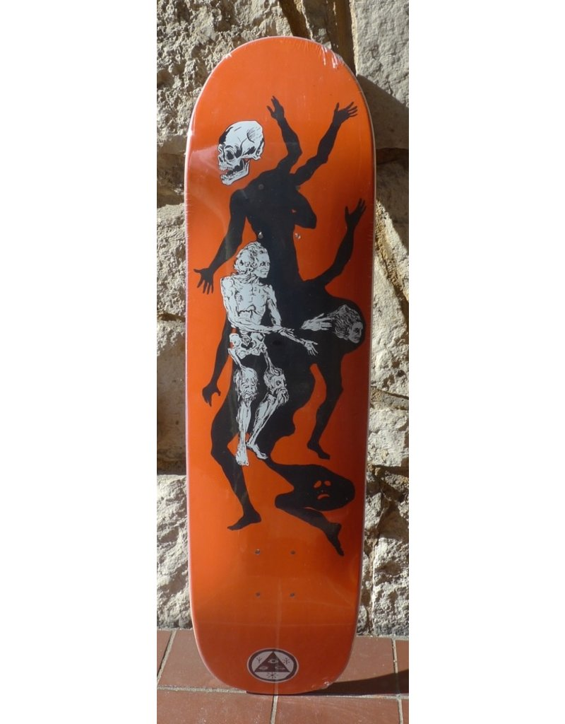 Welcome Welcome The Magician on Son of Planchette Orange Deck - 8.38 x 32.25