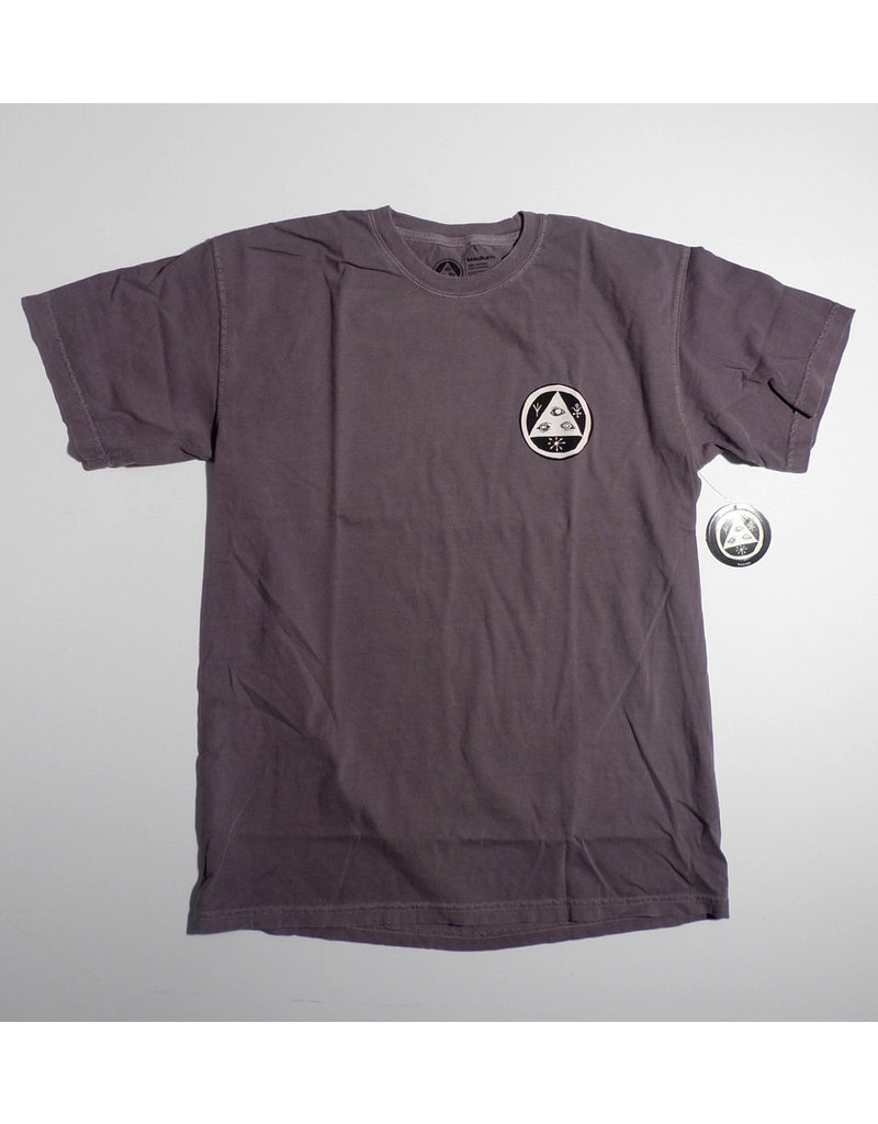 Welcome Welcome Sloth Garment Dyed T-shirt - Wine