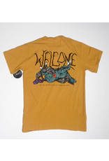 Welcome Welcome Goodbye Horses Garment Dyed T-shirt - Gold