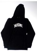 Welcome Welcome Droop Pullover Hoodie - Black