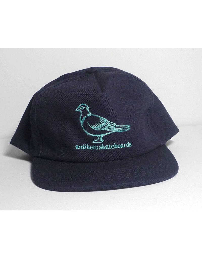 Anti-Hero Anti-Hero Lil Pigeon Snapback Hat - Navy