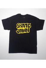 Skate Jawn Skate Jawn Straight Letter T-shirt - Black