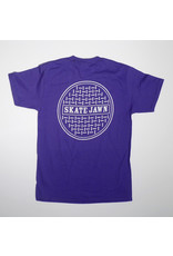 Skate Jawn Skate Jawn Sewer Cap T-shirt - Purple