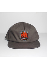 Spitfire Spitfire Bighead Fill Snapback Hat - Grey/Red