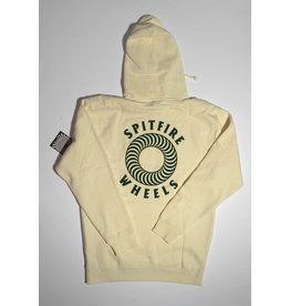 Spitfire Spitfire Hollow Classic Swirl Pullover Hoodie - Bone/Green