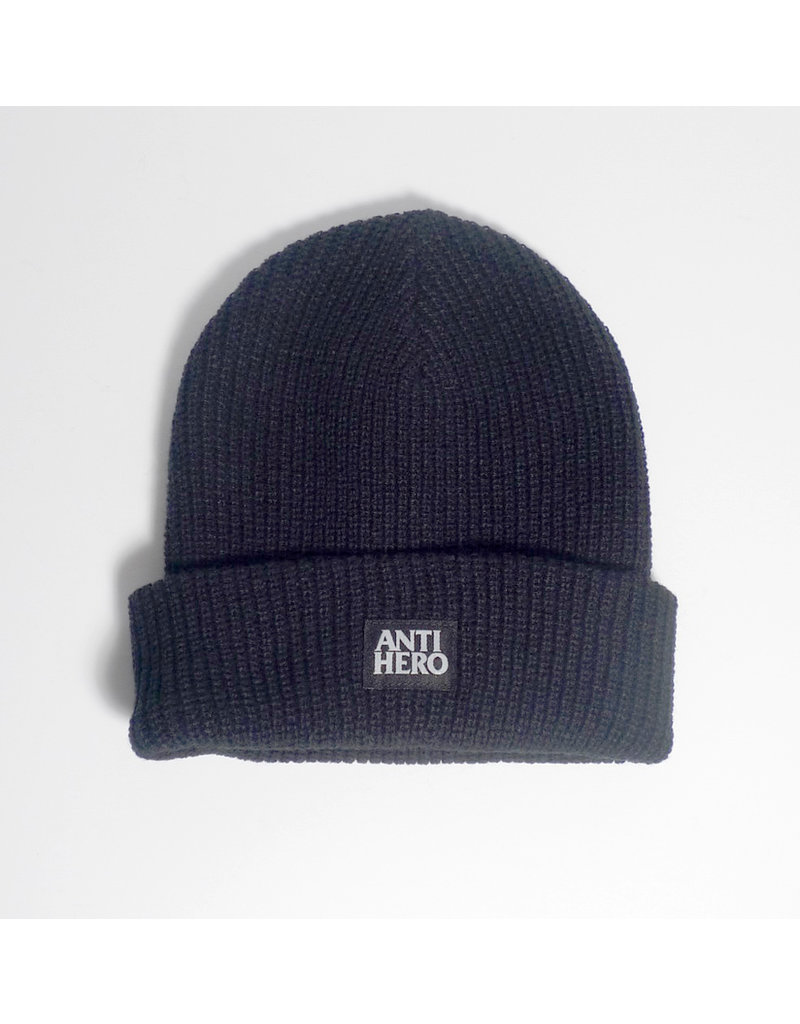 Anti-Hero Anti-Hero Lil Black Hero Beanie - Black