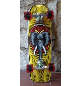 Powell Powell Mini Mike Vallely Yellow Cruiser Complete - 7.5 x 24