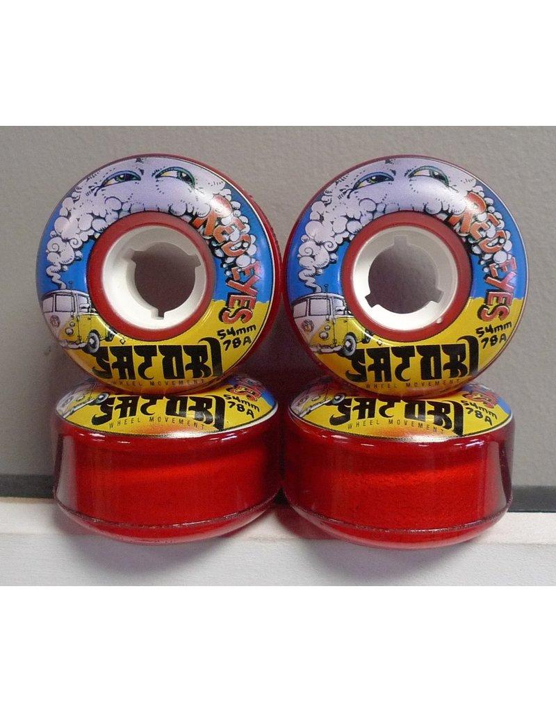 Satori Movement Satori Red Eyes Cruiser 54mm 78a Wheels (set of 4)