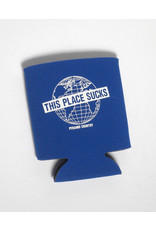 Pyramid Country Pyramid Country This Place Sucks Coozie - Blue