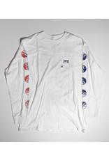 Vans Vans Gradient Skulls Longsleeve T-shirt - White  (size Medium or Large)