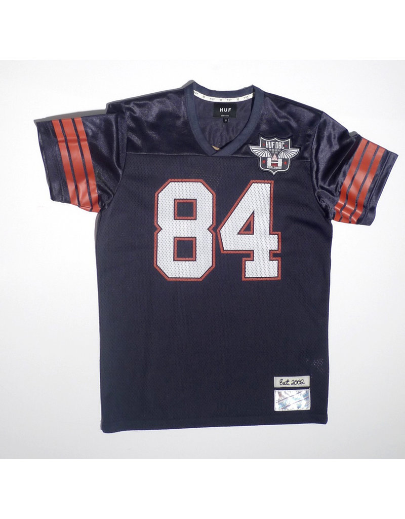 Huf Worldwide Huf 1984 Football Jersey - Navy (size Small or Medium)