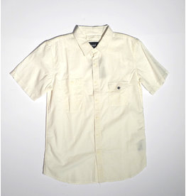 Huf Worldwide Huf Smoke Pocket s/s shirt - White (size Small)