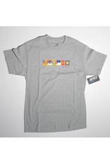 Lakai Lakai x Chocolate Flags T-shirt - Athletic Heather