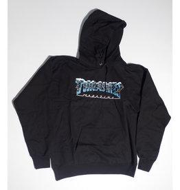 Thrasher Mag Thrasher Black Ice Pullover Hoodie - Black