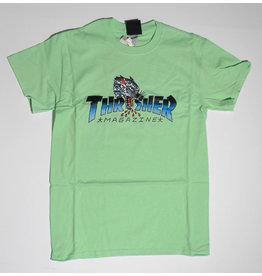 Thrasher Mag Thrasher Leopard Mag T-shirt - Mint