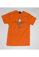 Thrasher Mag Thrasher Gonz Sad Logo T-shirt - Orange