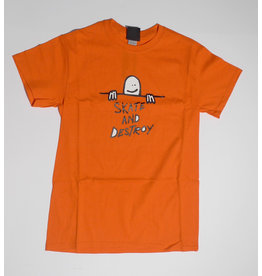 Thrasher Mag Thrasher Gonz S.A.D. Logo T-shirt - Orange