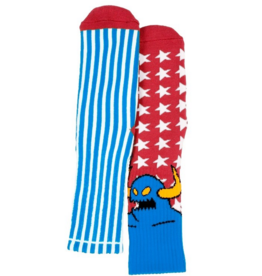 Toy Machine Toy Machine American Monster Socks - Blue