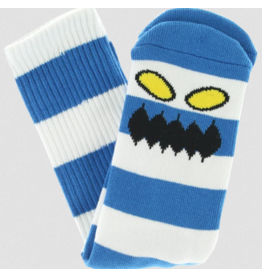 Toy Machine Toy Machine Monster Big Stripe Socks - Royal