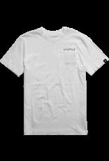 Emerica Emerica Pink Elephant T-shirt - White (size Small)