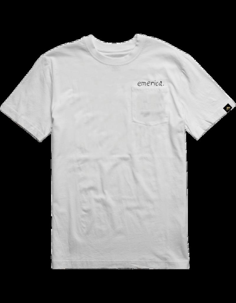 Emerica Emerica Pink Elephant T-shirt - White