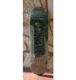 Character Character Smokeout Camo Green Deck - 8.0