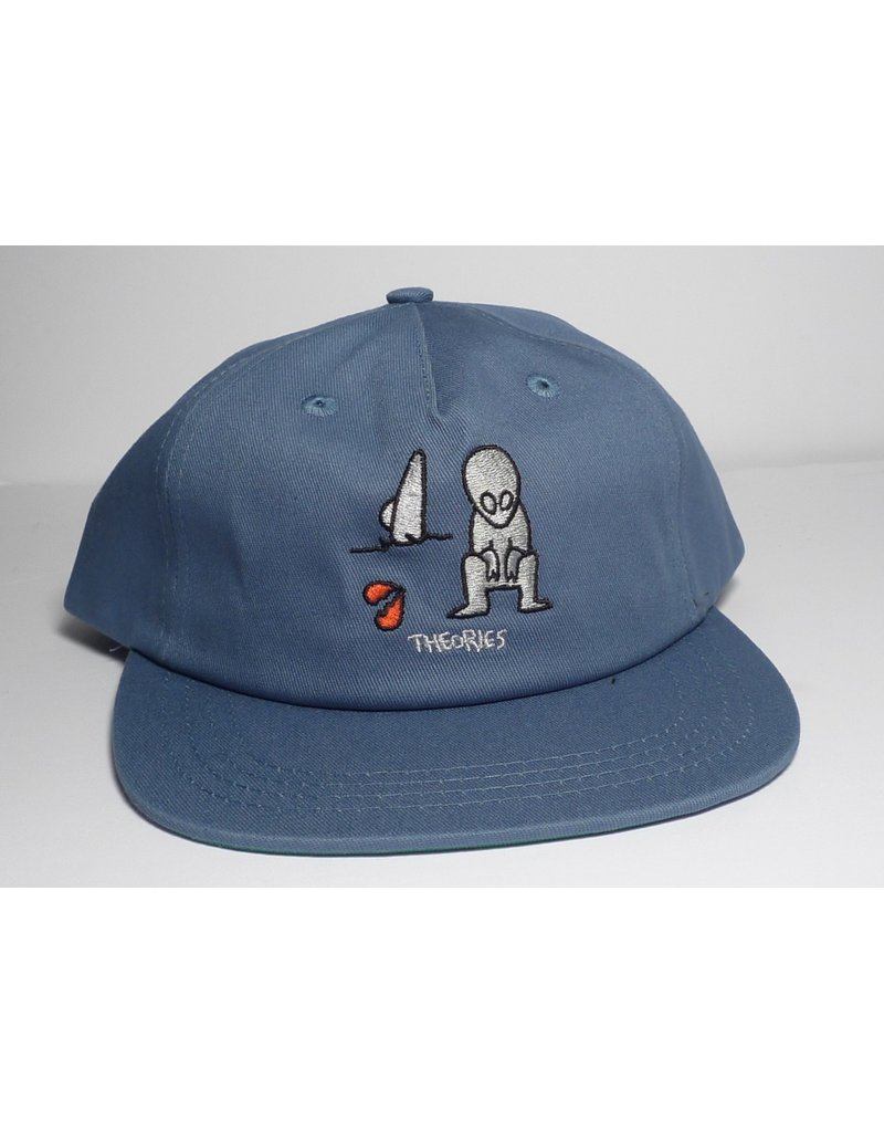 Theories Brand Theories Alone Again Strapback Hat - Navy